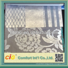 Shiny Velour Cut Plie Fabric for Covering Sofa Cushion