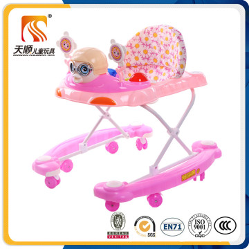 2016 China New Plastic Material Baby Walker for Kids