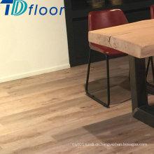 Trocknen Sie zurück Holzmaserung PVC Vinyl Bodenbelag