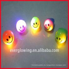Anillo de luz LED con cara de sonrisa