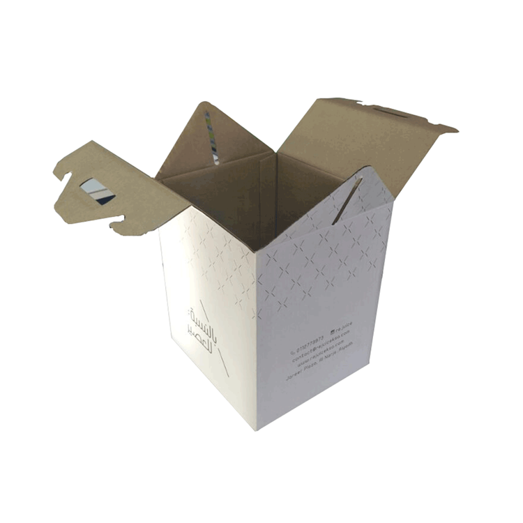 White Cake Packaging Corrugated Box