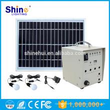 Pequeno sistema solar portátil para casa, sistema de luz solar portátil em Karachi