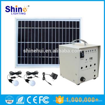 5W preço de fábrica carregador móvel Home Lighting Solar Power System