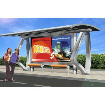 Современный автобус киоск с простой дизайн