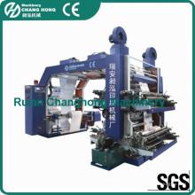 4 cores não tecido tecido Flexo impressão máquina (CE)
