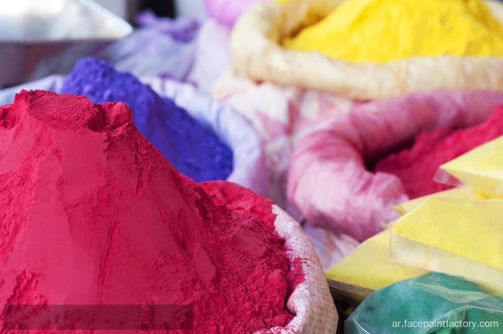 تشغيل Cornstarch الآمن Runs Races Parties تشغيل Color Powder