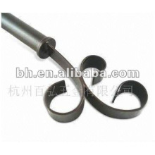 decorative aluminum alloy curtain track head end caps