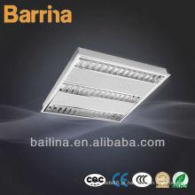 T5 fluorescente luz 4 * 14w t5 embutida grade lâmpada guangdong