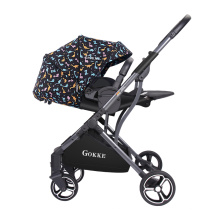 Portable léger de style européen acheter en ligne bébé poussette OEM avec siège réversible
