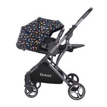 Легкая портативная коляска в европейском стиле купить в Интернете OEM-коляска для младенцев с двусторонним сиденьем