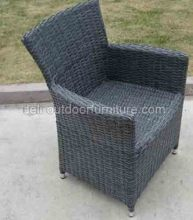 Wicker tuin waterdichte UV Metal Frame stoel
