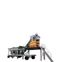 Small Mini Mobile Concrete Batching Plant For Sale