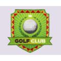 Вышивка + сублимационный патч, эмблема-гольф-клуб