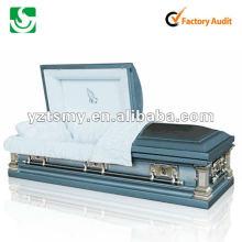 caixão de madeira de papelão cremação JS-ST039