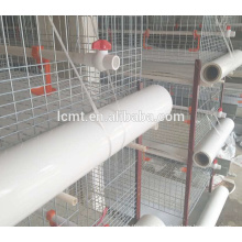 three or four layers chicken use automatic poultry cages
