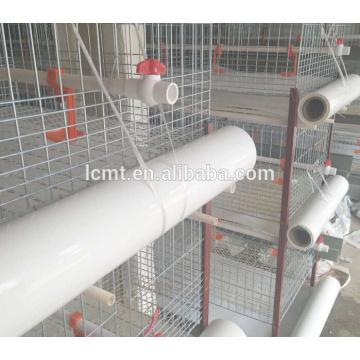 Drei oder vier Schichten Huhn benutzen automatische Geflügelkäfige