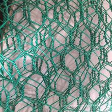 Malla de alambre hexagonal revestida de vinilo