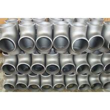 Rostfreies T-Stück Verbindungsrohr Rohr Rohrverschraubungen