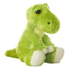Индивидуальный OEM! 30см мягкая игрушка, плюшевые игрушки динозавров, зеленая