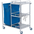 Coated Steel Waste Collectiong Trolley