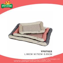 Tecidos para camas de cão, cama de estimação baratos (YF87022)