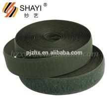 Fábrica de venta de nylon adhesivo gancho y lazo para la ropa, zapatos, Culer pelo