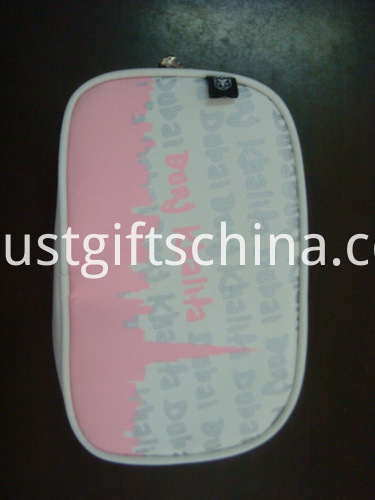 Promotional PVC Zipper Cosmetic Bags Full Color Printed Both Sides (3)
