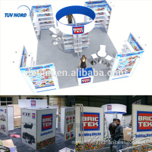 Detian Offer 20x20ft design exhibition booth trade show stand in China