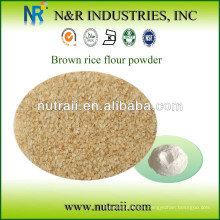 Polvo de harina de arroz integral 60-200mesh