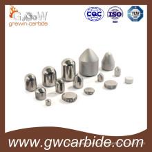 Puntas de minería de carburo, Puntas de botón, Puntas de minería de carburo