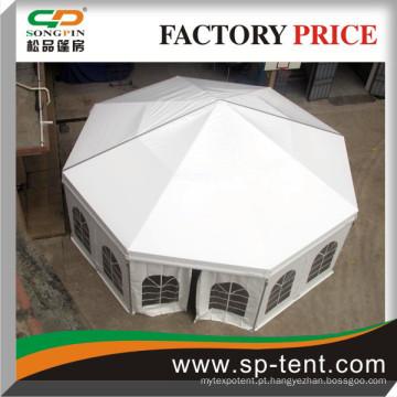 Diâmetro 10m da casa da barraca de alumínio Hall octogonal à venda