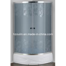 Корпус кислоты стеклянная душевая кабина с серым стеклом (как-911BD серый цвет)