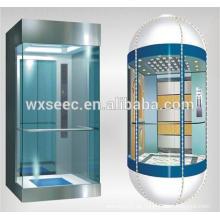 Fantastische halbe runde Sightseeing Glas Aufzug