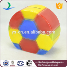 Football ceramic money box for kids