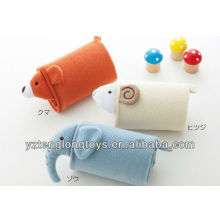 comfortable soft plush animal baby blanket