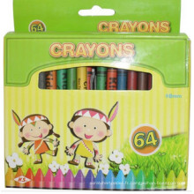 8pcs artiste professionnel dessin en vrac crayon de cire non toxique