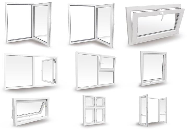 upvc window size