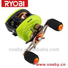 RYOBI Aquila Double brake system Japan fishing reel casting