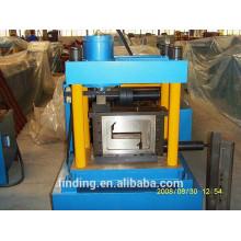 Fabrication de pannes en acier haute qualité Z forme formant la Machine