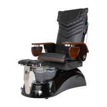 Pedicure Chair with Lavish Black Pedicure Tub