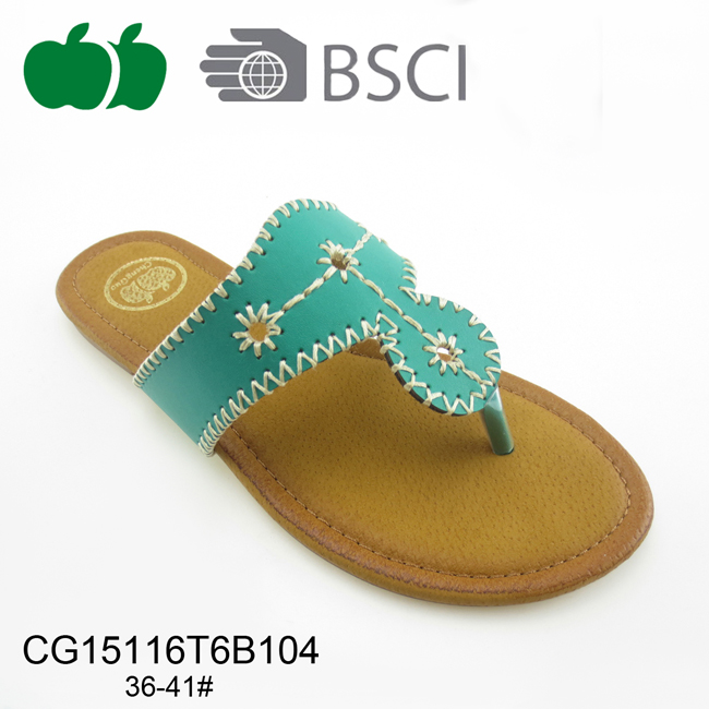 fashion pu slippers