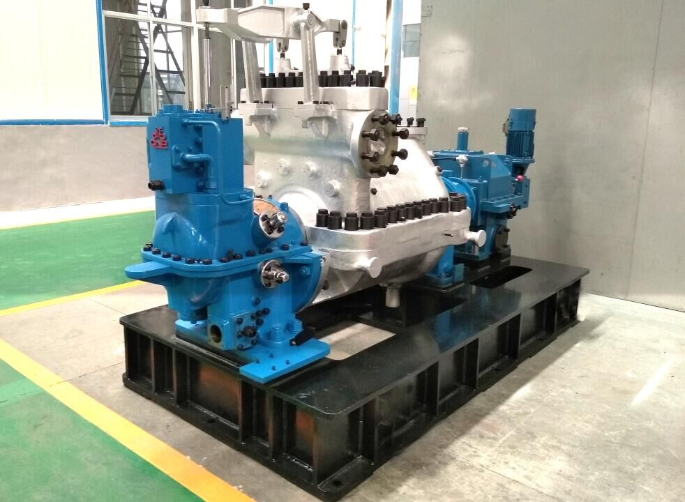 High Efficiency Reaction Steam Turbine