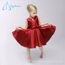 Pleat Custom Made High Quality Wedding Flower Girl Dresses