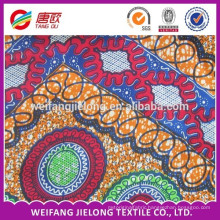 New design bright in colour african veritable wax cotton fabric for modern dress