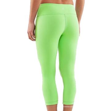 Desgaste da aptidão das mulheres, calças justas brasileiras da aptidão, Capris da ioga