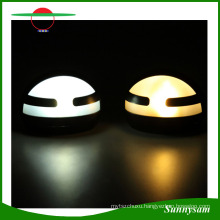 Half Moon Outdoor Lighting Products Solar Power LED Garden Fence Wall Lamp Wall Light