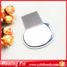 High Quality for Pet Combs,Pet Lice Comb,Pet Flea Comb Manufacturers and Suppliers in China cat lice comb with logo customised export to Cook Islands Supplier