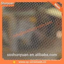 Shunyuan Factory! Écran de fenêtre en aluminium à armure d'insectes / tissu métallique / écran en maille