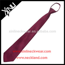 100% handgemachte perfekte Knoten Männer Großhandel Seide Krawatten mit Reißverschluss
