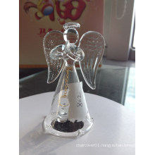 Clear Glass Bell Jars Wholesale with Angel Design